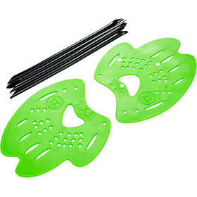 TYR Mentor 2 Hand Paddles L flou green